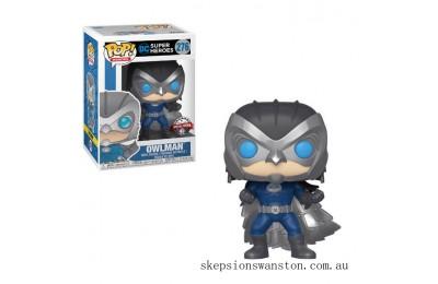 DC Comics Batman Owlman EXC Funko Pop! Vinyl Clearance Sale