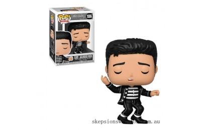 Pop Rocks Jailhouse Rock Elvis Presley Funko Pop! Vinyl Clearance Sale