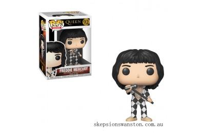 Pop! Rocks Queen Freddie Mercury Funko Pop! Vinyl Clearance Sale