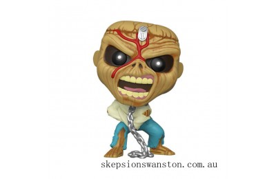 Pop! Rocks Iron Maiden Eddie Piece of Mind Version Funko Pop! Vinyl Clearance Sale