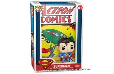 DC Comics Superman Action Comic Pop! Vinyl Comic Clearance Sale