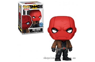 PIAB EXC DC Comics Red Hood Jason Todd Funko Pop! Vinyl Clearance Sale