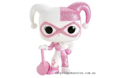 Batman Harley Quinn Pink Diamond Glitter EXC Funko Pop! Vinyl Clearance Sale