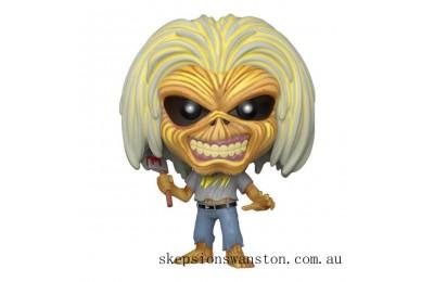 Pop! Rocks Iron Maiden Eddie Killers Version Funko Pop! Vinyl Clearance Sale