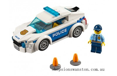 Discounted Lego Police Patrol Car