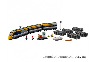 Genuine Lego Passenger Train