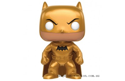DC Heroes Golden Midas Batman LE Funko Pop! Vinyl Clearance Sale
