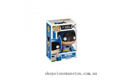 Dc Comics Batman 75th Anniversary Blue Rainbow Batman EE Exclusive Funko Pop! Vinyl Clearance Sale