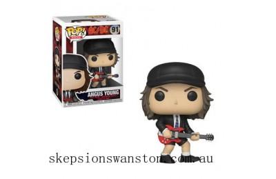 Pop! Rocks AC/DC Angus Young Funko Pop! Vinyl Clearance Sale