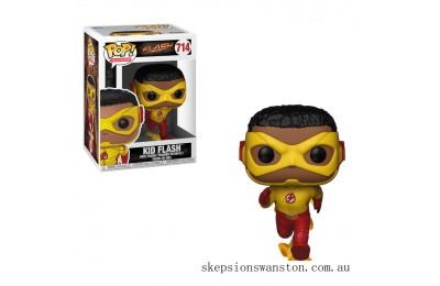 DC The Flash Kid Flash Funko Pop! Vinyl Clearance Sale