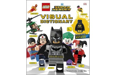 Genuine Lego® DC Super Heroes Visual Dictionary