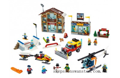 Outlet Sale Lego Ski Resort