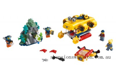 Outlet Sale Lego Ocean Exploration Submarine