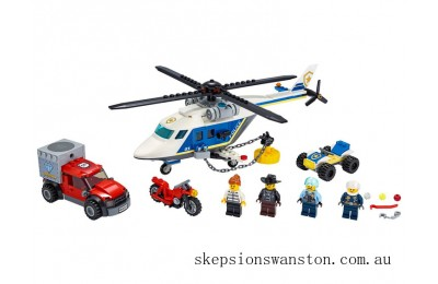 Discounted Lego Police Helicopter Chase
