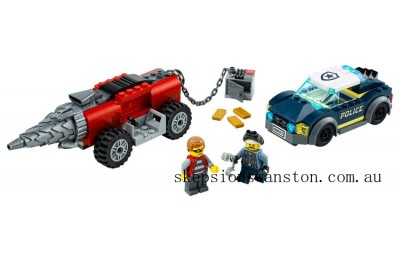 Outlet Sale Lego Police Driller Chase