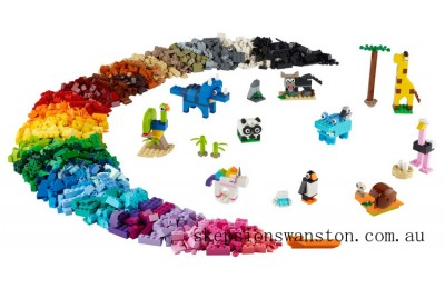 Genuine Lego Bricks and Animals