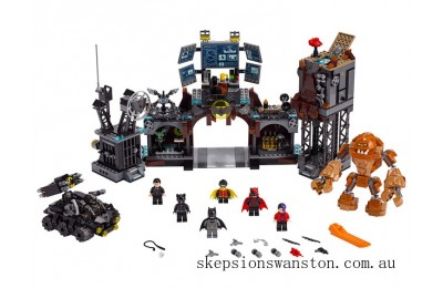 Outlet Sale Lego Batcave Clayface™ Invasion