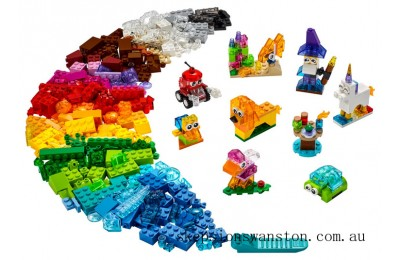 Outlet Sale Lego Creative Transparent Bricks