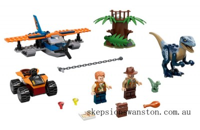 Genuine Lego Velociraptor: Biplane Rescue Mission​
