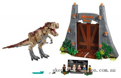 Hot Sale Lego Jurassic Park: T. rex Rampage
