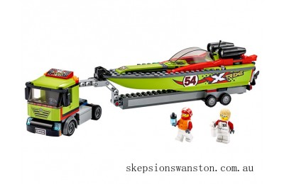 Hot Sale Lego Race Boat Transporter