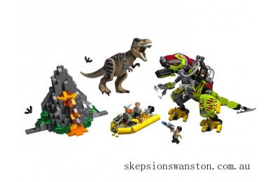 Clearance Lego T. rex vs Dino-Mech Battle