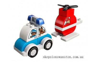 Hot Sale Lego Fire Helicopter & Police Car