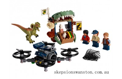 Genuine Lego Dilophosaurus on the Loose