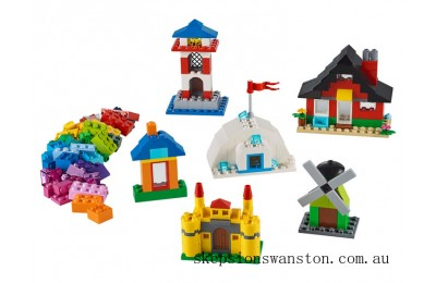 Genuine Lego Bricks and Houses