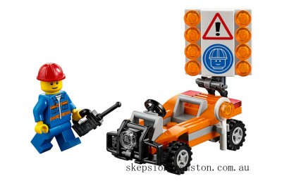 Genuine Lego Road Worker
