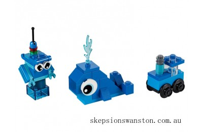 Clearance Lego Creative Blue Bricks