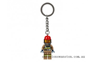 Hot Sale Lego City Firefighter Key Chain