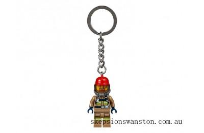 Hot Sale Lego City Firefighter Key Chain
