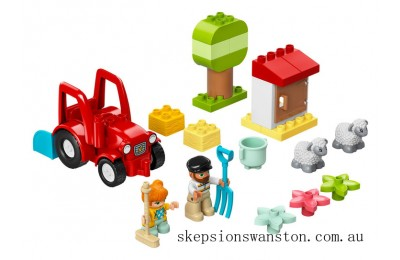 Clearance Lego Farm Tractor & Animal Care