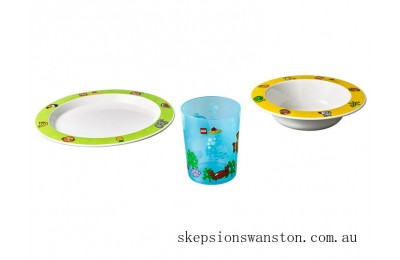 Genuine Lego® DUPLO® Tableware