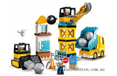 Outlet Sale Lego Wrecking Ball Demolition