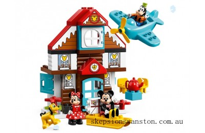 Hot Sale Lego Mickey's Vacation House