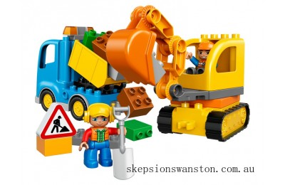 Hot Sale Lego Truck & Tracked Excavator