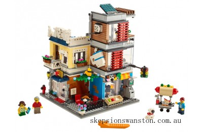 Discounted Lego Townhouse Pet Shop & Café