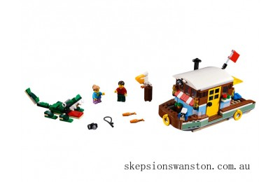 Discounted Lego Riverside Houseboat