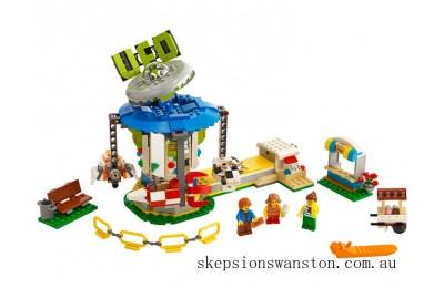 Discounted Lego Fairground Carousel