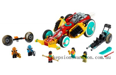 Genuine Lego Monkie Kid's Cloud Roadster