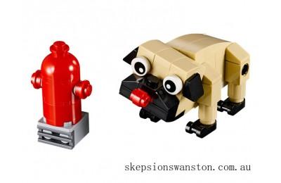 Outlet Sale Lego Cute Pug