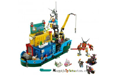 Clearance Lego Monkie Kid's Team Secret HQ