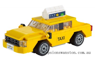Genuine Lego Yellow Taxi