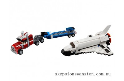 Genuine Lego Shuttle Transporter