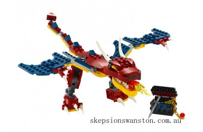 Discounted Lego Fire Dragon