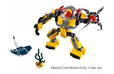 Genuine Lego Underwater Robot