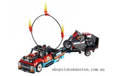 Clearance Lego Stunt Show Truck & Bike