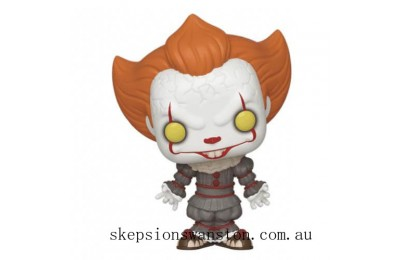IT Chapter 2 Pennywise with Open Arms Funko Pop! Vinyl Clearance Sale